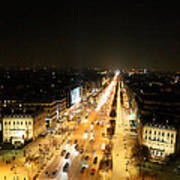 View From Arc De Triomphe - Paris France - 011319 Art Print by DC Photographer
