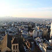 View From Basilica Of The Sacred Heart Of Paris - Sacre Coeur - Paris France - 011320 Art Print