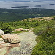 View From Cadillac Mountain - Acadia Park Art Print