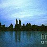 View From Central Park Art Print