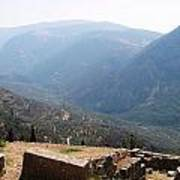 View From Delphi 2 Art Print