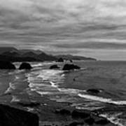 View From Ecola Park Art Print