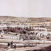 View From Gambles Hill, Richmond Art Print