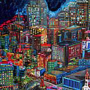 View From Hemisphere Art Print by Patti Schermerhorn