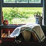 View From Kitchen Window Art Print