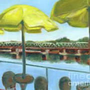 View From Martine's-new Hope Art Print