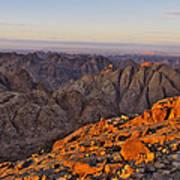 View From Mount Sinai Art Print