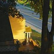 View From My Window On A Summer Afternoon  B-21 Art Print