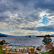 View From The Balcony Suite - Sagamore Resort Art Print