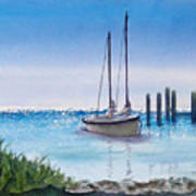 View From The Barnacle Art Print