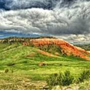 view from the Chief Joseph Highway  Art Print