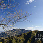 View From The Great Wall 842 Art Print