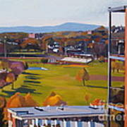 View From The Heights Art Print