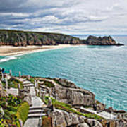 View From The Minack Theatre Art Print