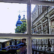 View From The Novodevichy Convent - Russia Art Print
