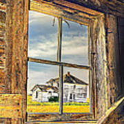 View From The Stable Art Print
