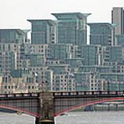 View From Westminster Bridge Art Print
