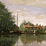 View In Holland Art Print