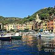 view in Portofino Art Print