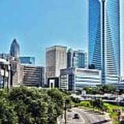 view of Charlotte North Carolina Art Print