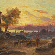 View Of Constantinople Art Print