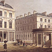 View Of Cross Bath, Bath Street Art Print
