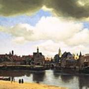 View Of Delft Vermeer Art Print
