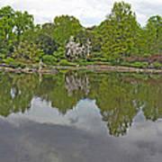 View Of Japanese Garden, Wroclaw, Poland Art Print