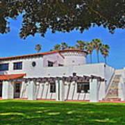 View Of Ole Hanson Beach Club San Clemente Art Print
