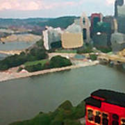 View Of Pittsburgh From Mt. Washington Art Print