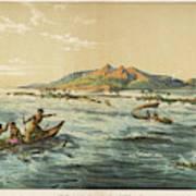 View Of Puynipet (bonibai) Art Print