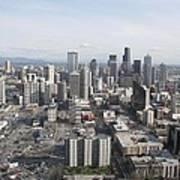 View Of Seattle Art Print
