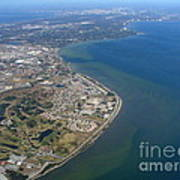 View Of Tampa Harbor Before Landing Art Print
