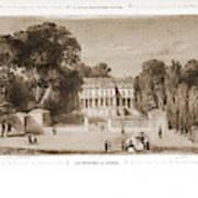 View Of The Castle, Paris And Surroundings Art Print