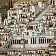 View Of The City De Damascus, Syrian Art Print