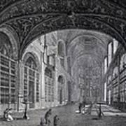 View Of The Interior Part Of The Church Art Print