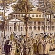 View Of The Jubilee Ball, Ranelagh Art Print