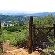 View Of The Ojai Valley Art Print