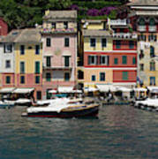 View Of The Portofino, Liguria, Italy Art Print