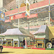 View Of The Sheffield Hardware Stand Art Print