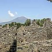 View Of Vesuvius Art Print