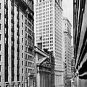 View Of Wall Street Art Print