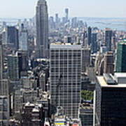View Over Manhattan I Art Print