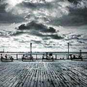 View Point On The Pier Art Print
