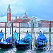 View To San Giorgio Maggiore Art Print