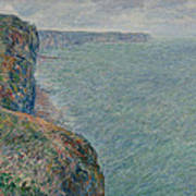 View To The Sea From The Cliffs Art Print
