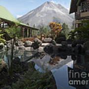 Viewing Arenal Volcano Art Print