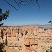 Viewpoint At Bryce Canyon  Art Print