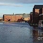 Views From Historic Gloucester Docks 2 Art Print