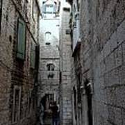 Views From Split Croatia Art Print